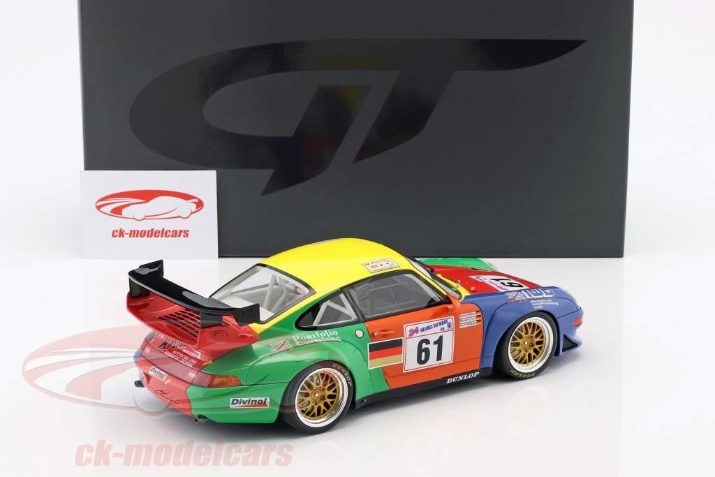 Porsche 911 (993) GT2 #61 24h LeMans 1998 Müller, Trunk, Palmberger 1:18 GT-Spirit