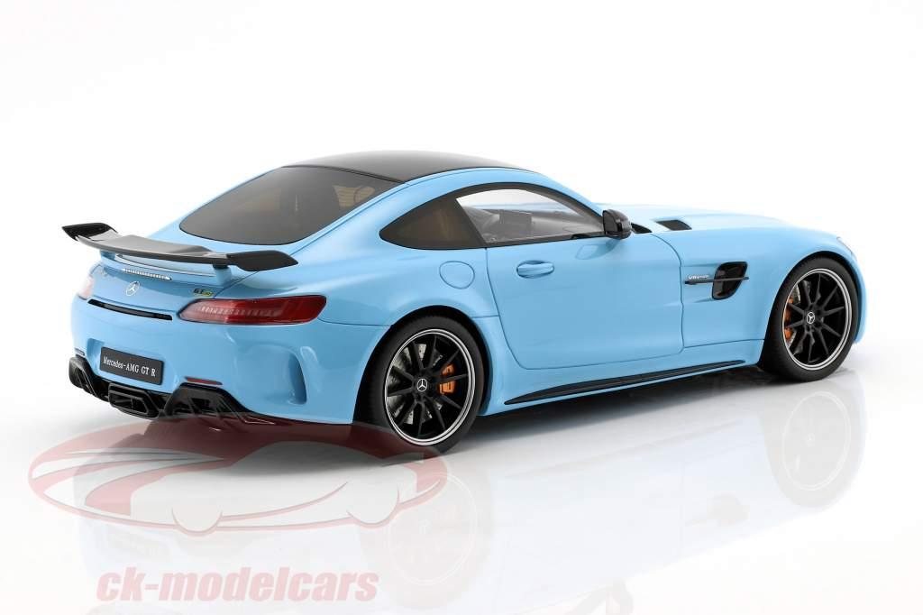 Mercedes-Benz AMG GTR year 2017 China blue 1:18 GT-Spirit