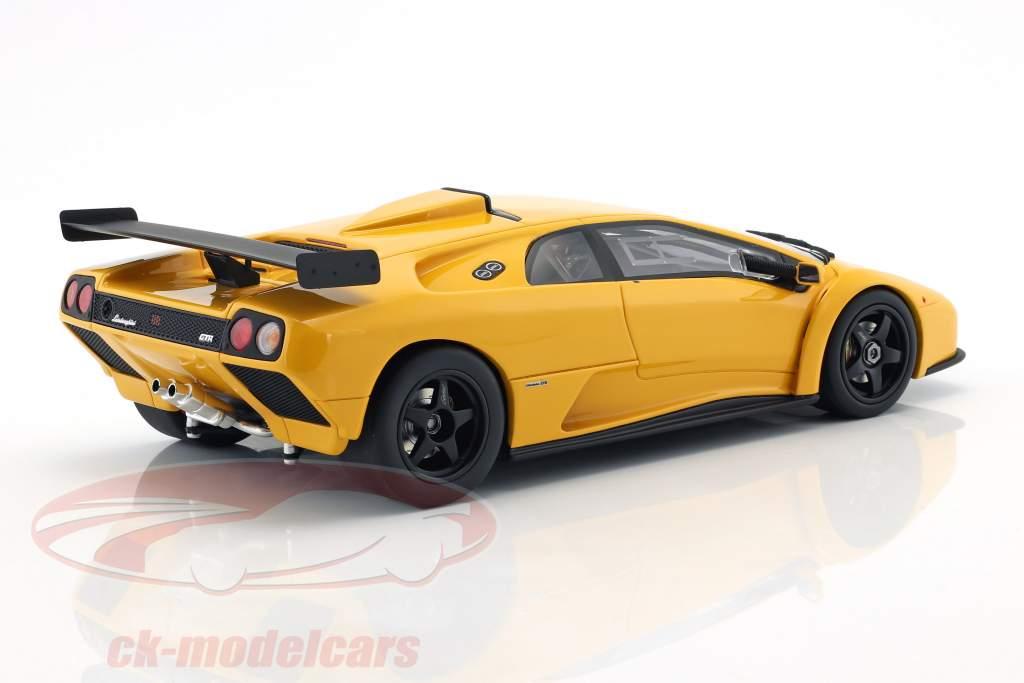 Lamborghini Diablo GTR Baujahr 1999 gelb 1:18 GT-Spirit