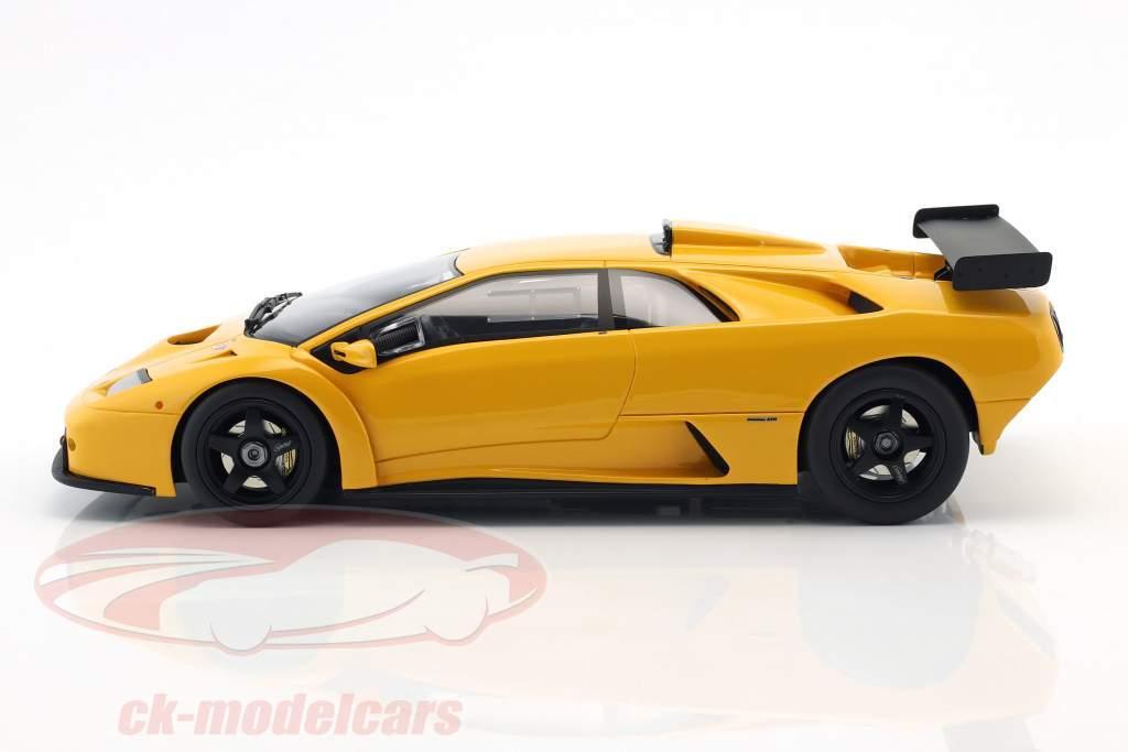 Lamborghini Diablo GTR year 1999 yellow 1:18 GT-Spirit