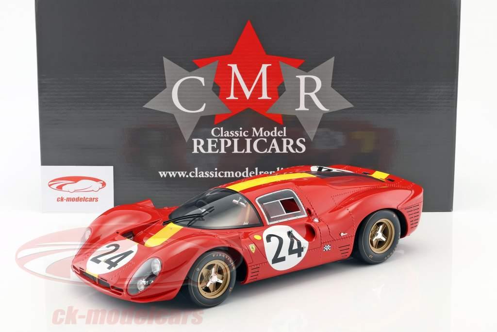 Ferrari 330 P4 #24 3. 24h LeMans 1967 Blaton, Mairesse 1:12 CMR