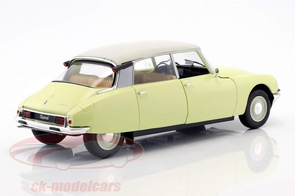Citroen D Special year 1955–1975 panama yellow 1:18 Solido