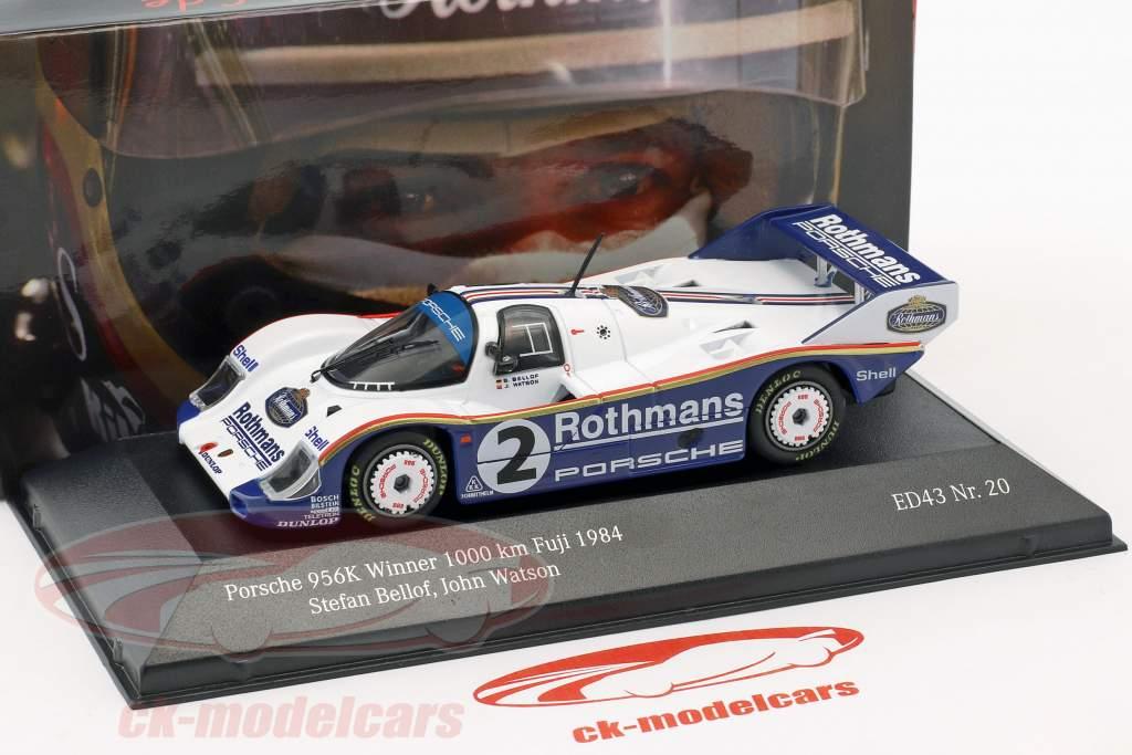 Porsche 956K #2 Winner 1000km Fuji 1984 Bellof, Watson 1:43 CMR