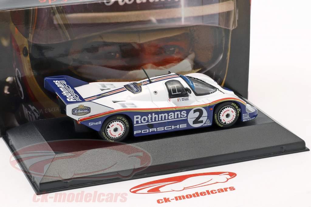 Porsche 956K #2 Vinder 1000km Fuji 1984 Bellof, Watson 1:43 CMR