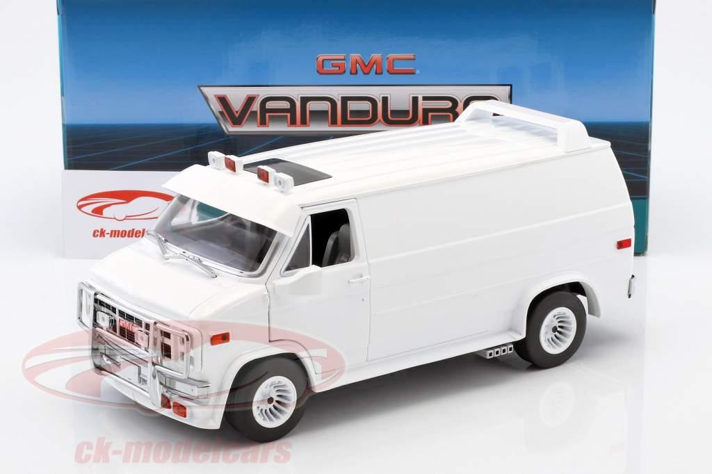 GMC Vandura year 1983 white 1:18 Greenlight