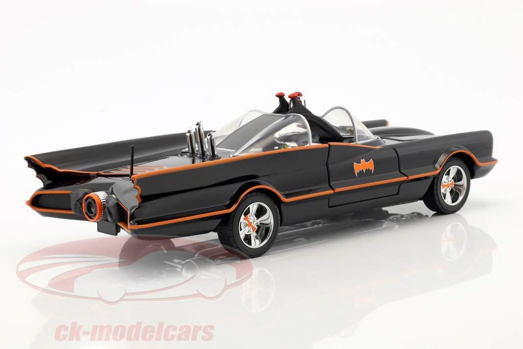 Batmobile Classic TV Series 1966 Con Batman e Robin figura 1:18 Jada Toys