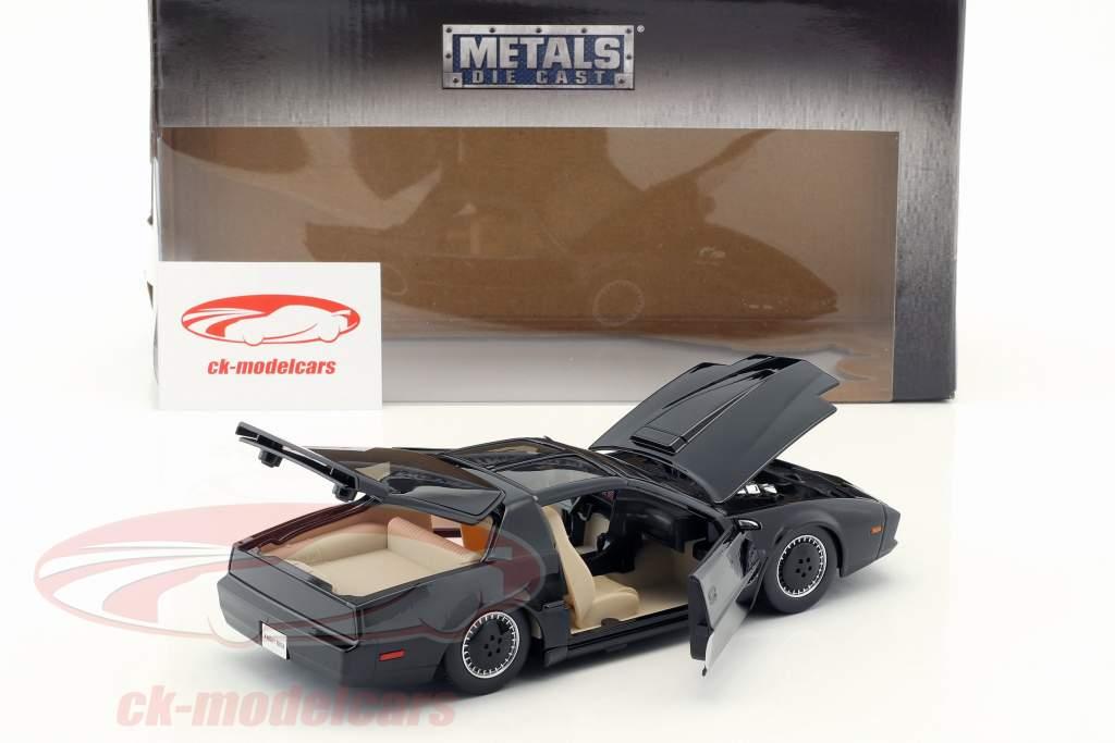 Pontiac Firebird K.I.T.T. TV series Knight Rider (1982-1986) black 1:24 Jada Toys