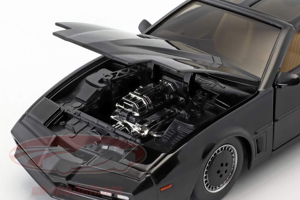 Pontiac Firebird K.I.T.T. serie TV Knight Rider (1982-1986) nero 1:24 Jada Toys