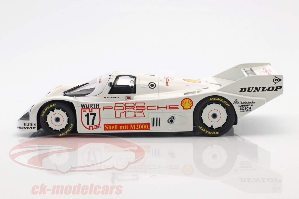 Porsche 962 C #17 Winner Supercup 1987 Hans-Joachim Stuck 1:18 Norev