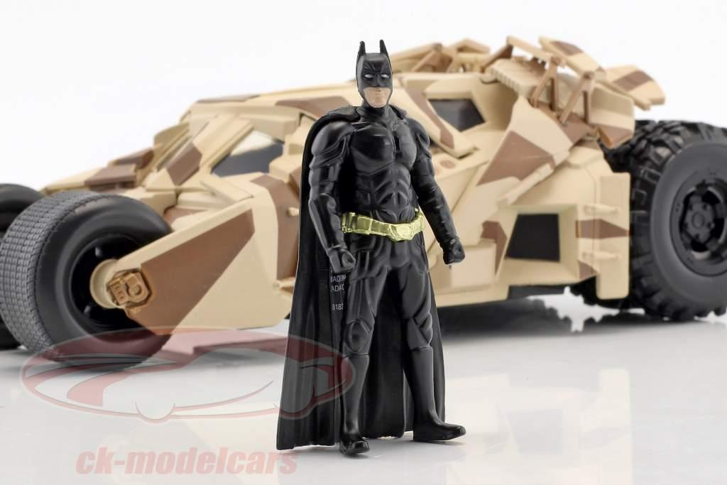 Batmobile de o filme The Dark Knight 2008 com Batman figura 1:24 Jada Toys