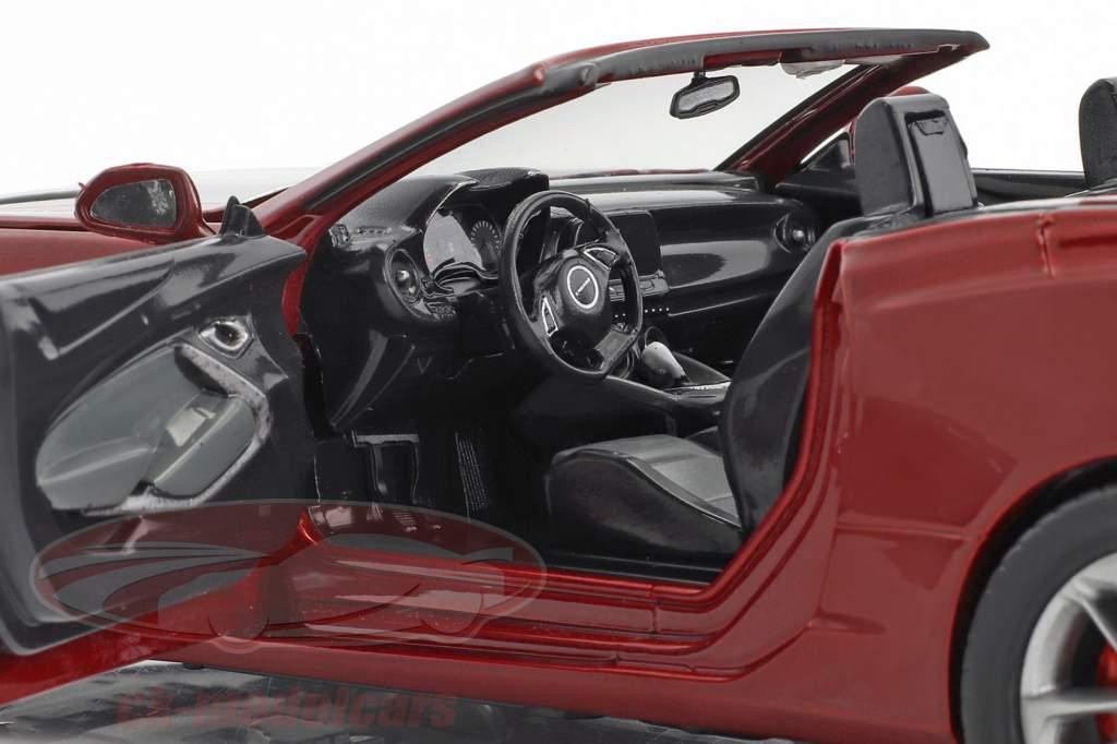Chevrolet Camaro SS Cabriolet Baujahr 2017 dunkelrot metallic 1:24 Greenlight