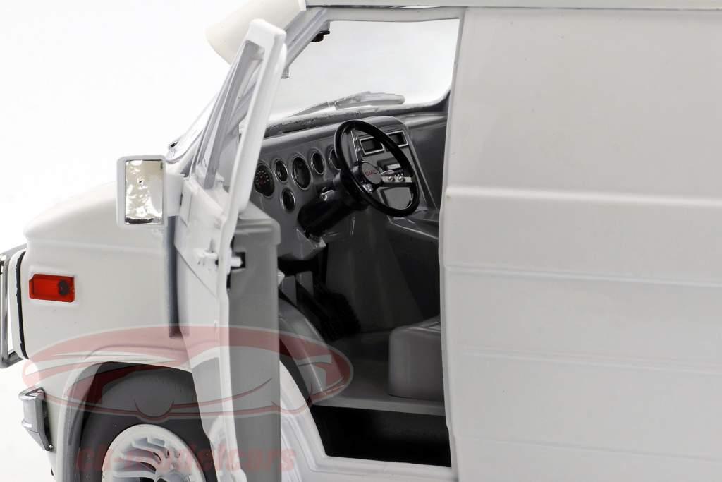 GMC Vandura año de construcción 1983 blanco 1:18 Greenlight