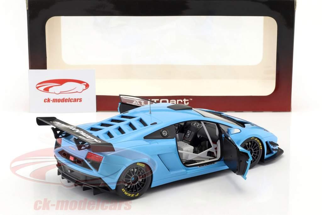 Lamborghini Gallardo GT3 FL2 año 2013 azul 1:18 AUTOart