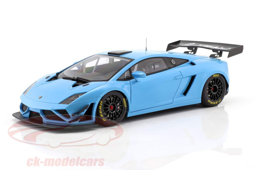 Lamborghini Gallardo GT3 FL2 Year 2013 blue 1:18 AUTOart