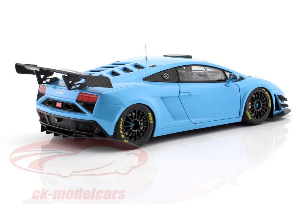 Lamborghini Gallardo GT3 FL2 année 2013 bleu 1:18 AUTOart