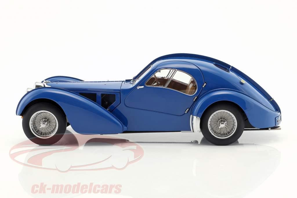 Bugatti 57S Atlántico, construido en 1938 azul 1:18 AUTOart