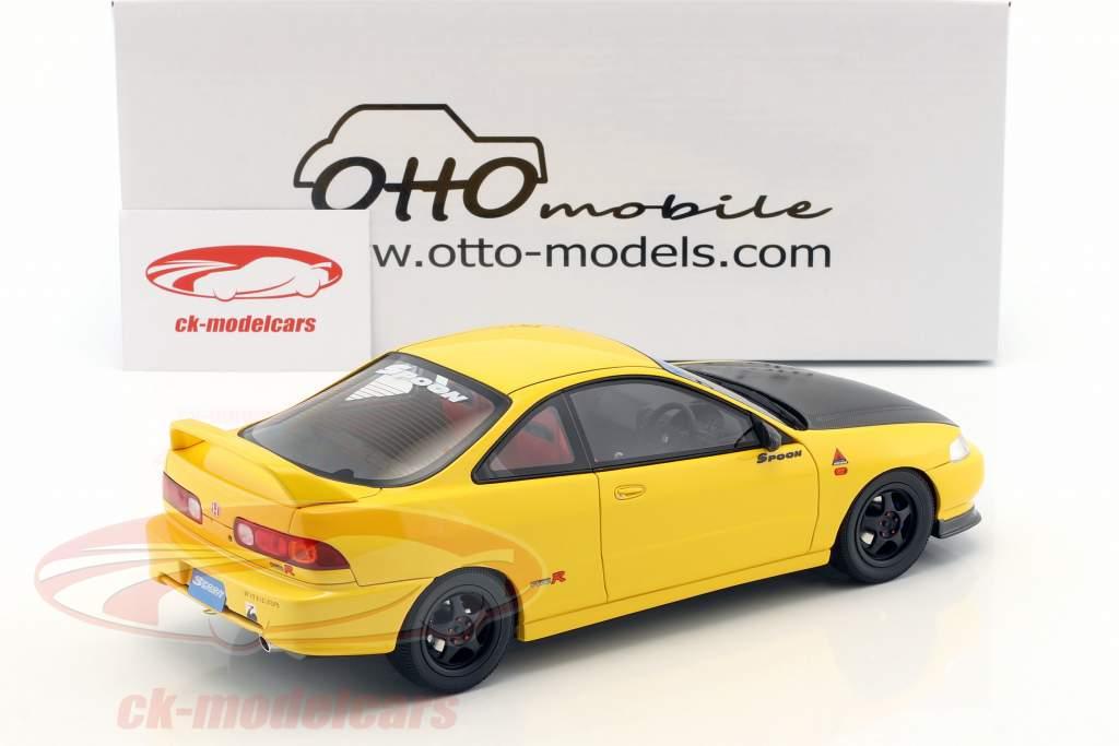 Honda Integra DC2 Spoon Baujahr 1998 sunlight gelb 1:18 OttOmobile