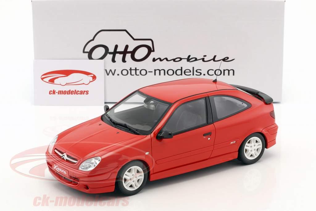 Citroen Xsara Sport Phase I year 2000 red 1:18 OttOmobile