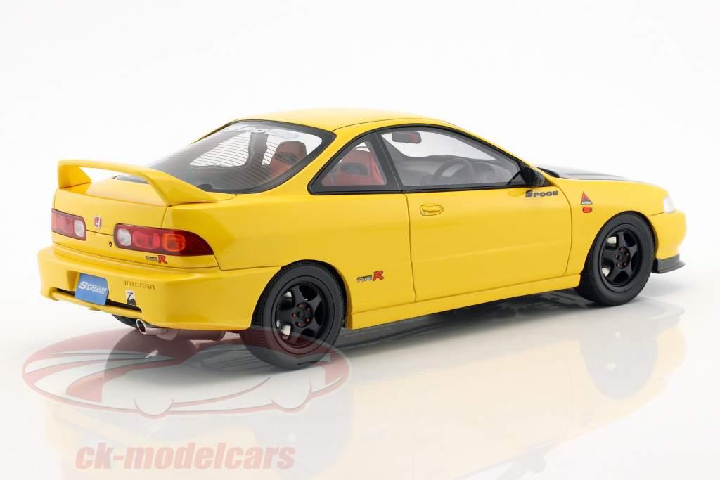Honda Integra DC2 Spoon Opførselsår 1998 sunlight gul 1:18 OttOmobile