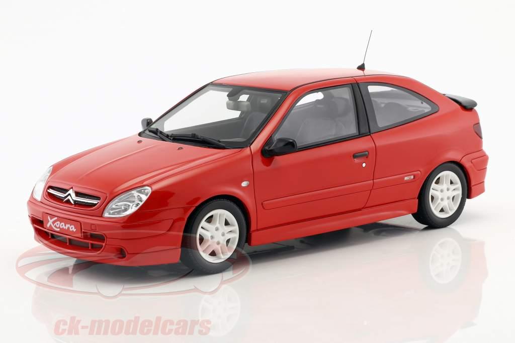 Citroen Xsara Sport Phase I année de construction 2000 rouge 1:18 OttOmobile