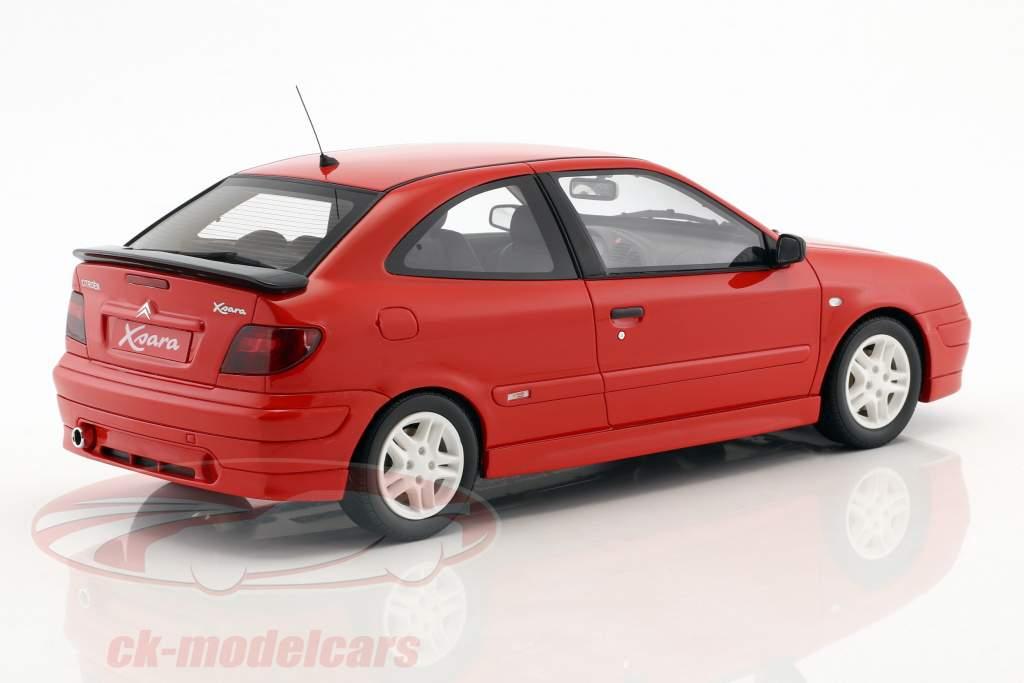 Citroen Xsara Sport Phase I Opførselsår 2000 rød 1:18 OttOmobile
