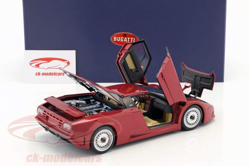 Bugatti EB110 GT Anno di costruzione 1991 scuro rosso 1:18 AUTOart