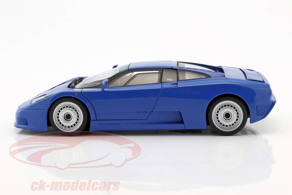 Bugatti EB110 GT Année 1991 bleu 1:18 AUTOart