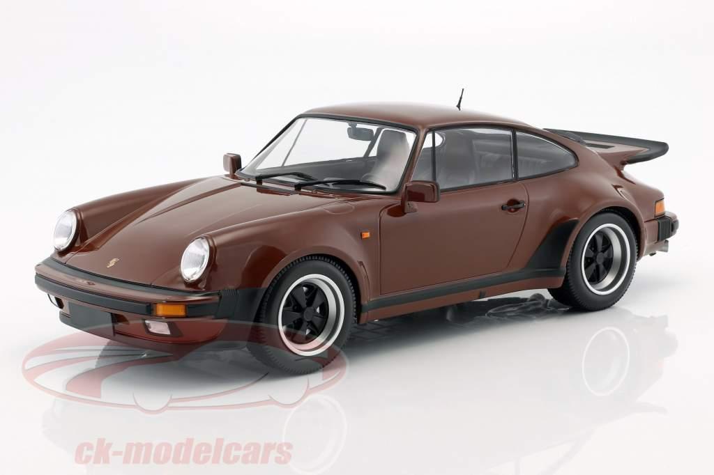 Porsche 911 (930) Turbo year 1977 brown 1:12 Minichamps