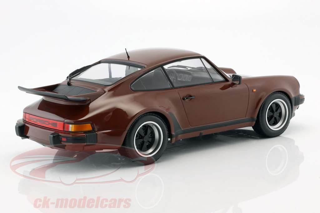 Porsche 911 (930) Turbo Baujahr 1977 braun 1:12 Minichamps