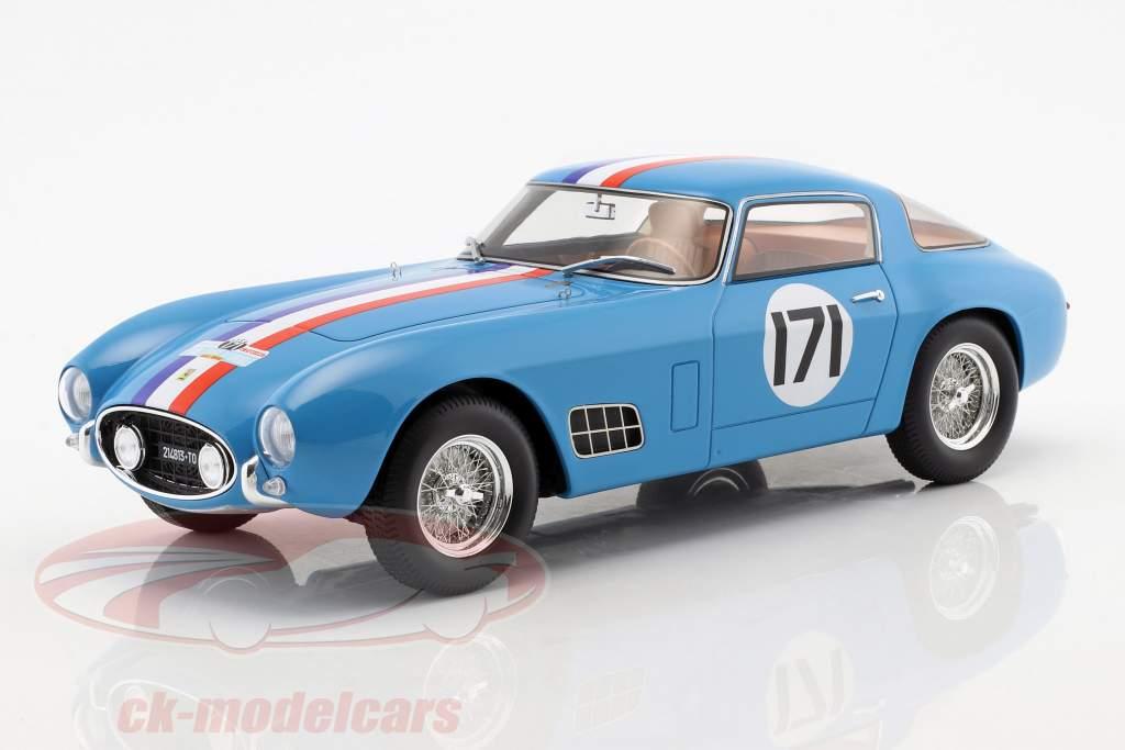Ferrari 250 GT Berlinetta Competizione #171 quinto Tour de France 1957 Peron, Burggraf 1:18 CMR