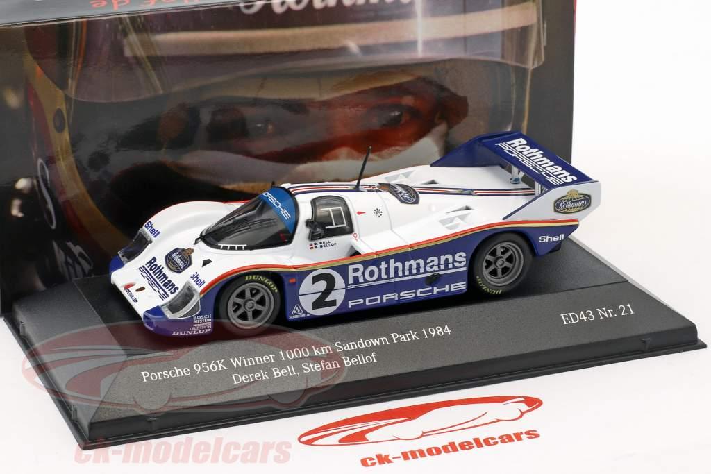 Porsche 956K #2 vencedor 1000km Sandown Park 1984 Bellof, Bell 1:43 CMR