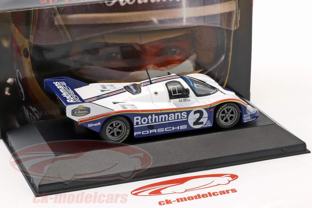 Porsche 956K #2 ganador 1000km Sandown Park 1984 Bellof, Bell 1:43 CMR