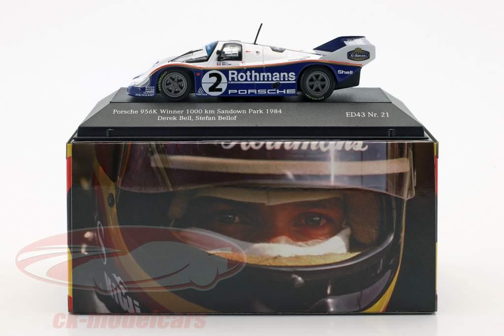 Porsche 956K #2 gagnant 1000km Sandown Park 1984 Bellof, Bell 1:43 CMR