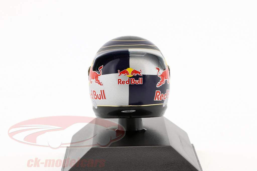 S. Vettel Red Bull GP Suzuka Formule 1 2009 Helm 1: 8 Minichamps