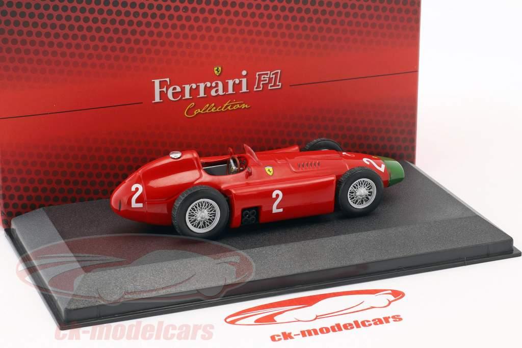 Peter Collins Ferrari D50 #2 fórmula 1 1956 1:43 Atlas