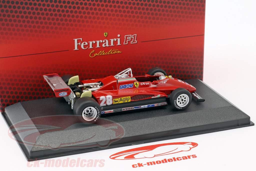 Didier Pironi Ferrari 126 C2 #28 formule 1 1982 1:43 Atlas