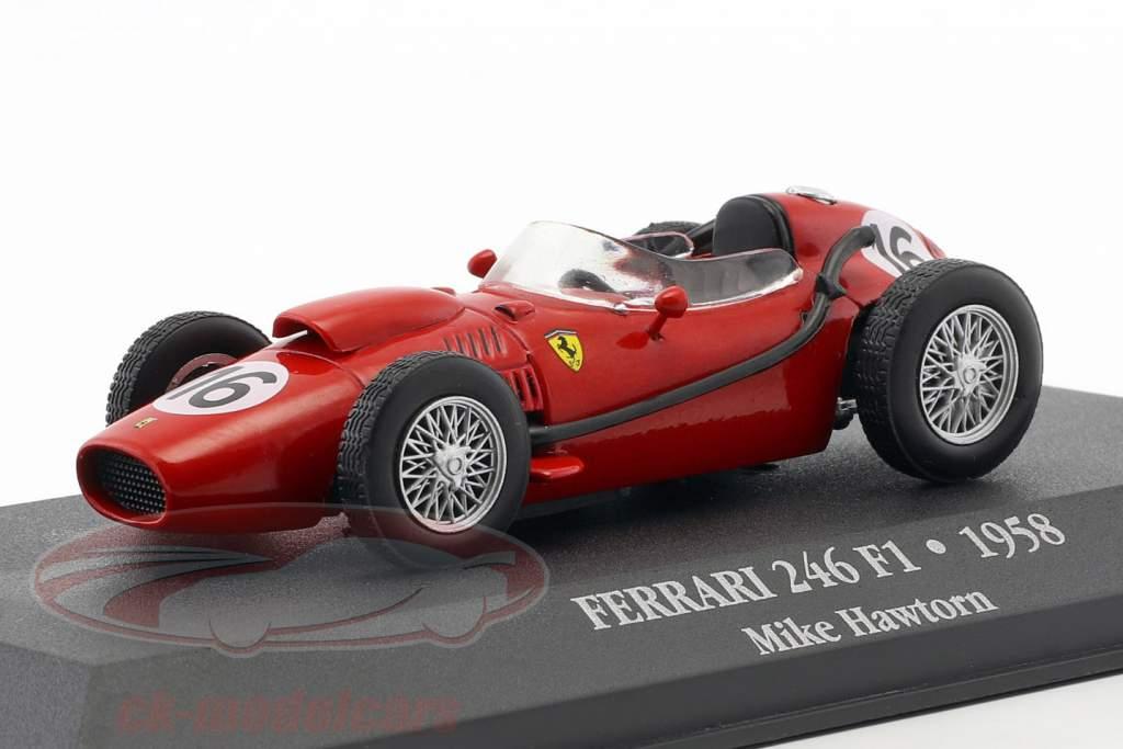 Mike Hawthorn Ferrari 246 F1 #16 fórmula 1 1958 1:43 Atlas