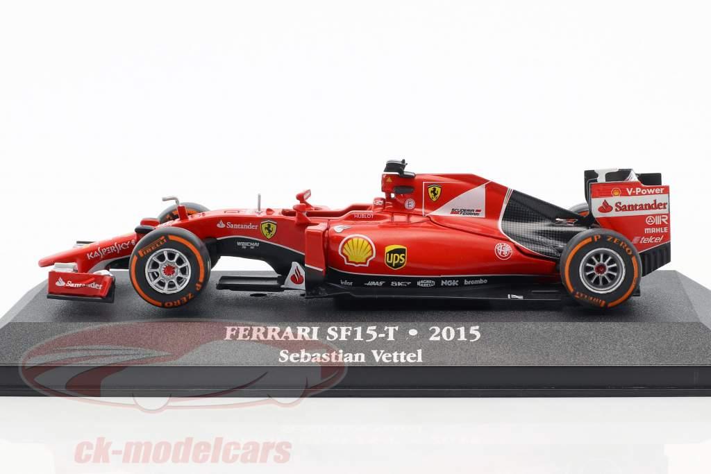 Sebastian Vettel Ferrari SF15-T #5 formel 1 2015 1:43 Atlas