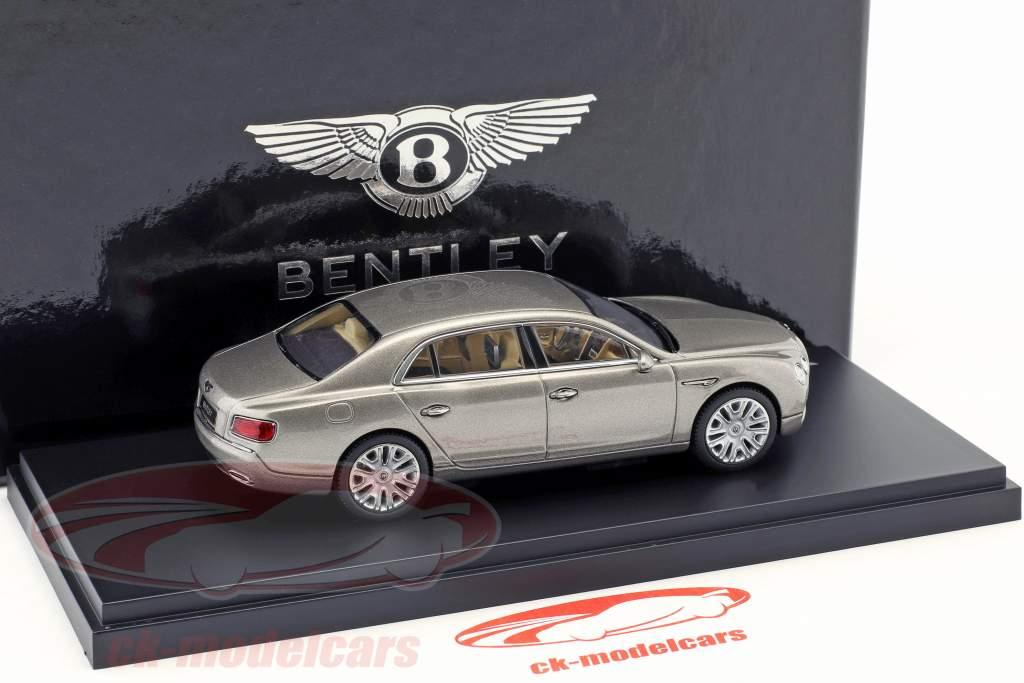 Bentley Flying Spur W12 perle sølv 1:43 Kyosho
