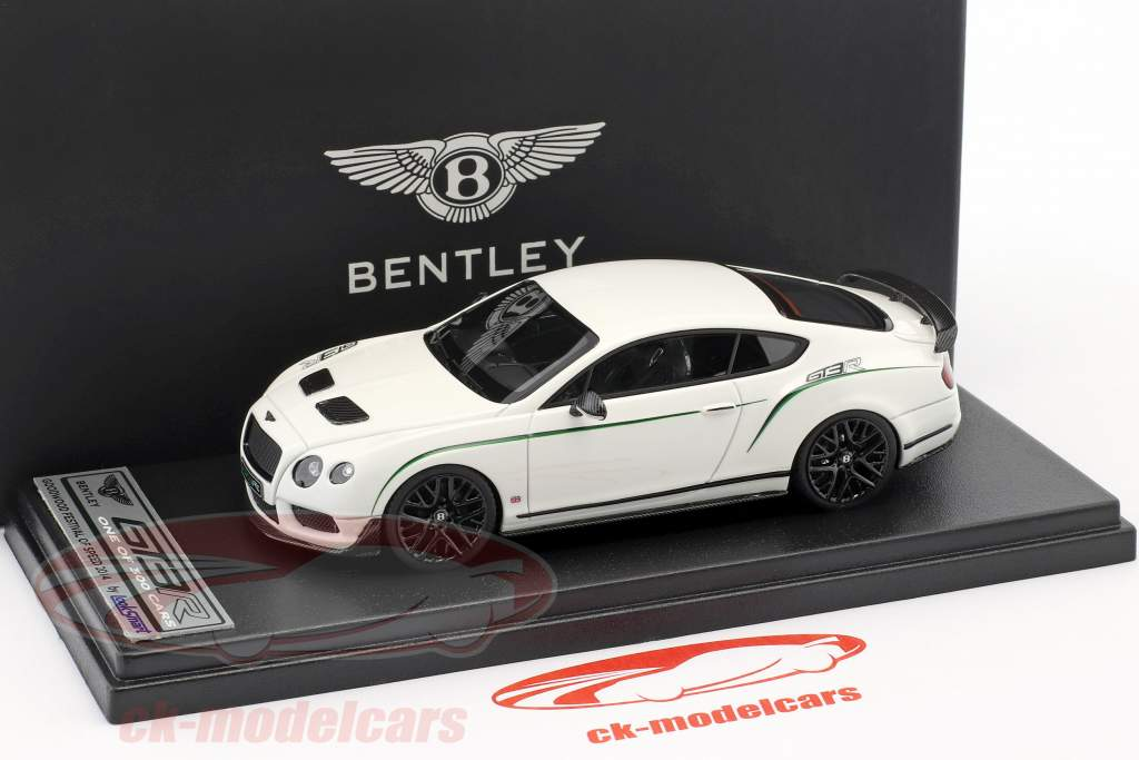 Bentley Continental GT3-R Goodwood festival af hastighed 2014 hvid 1:43 LookSmart