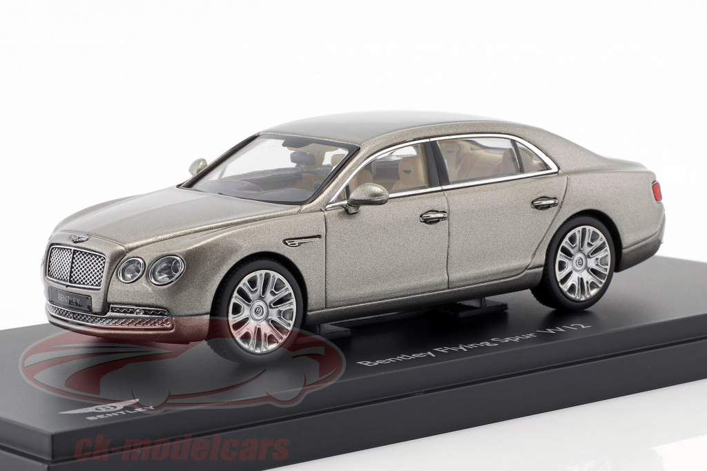Bentley Flying Spur W12 parel zilver 1:43 Kyosho