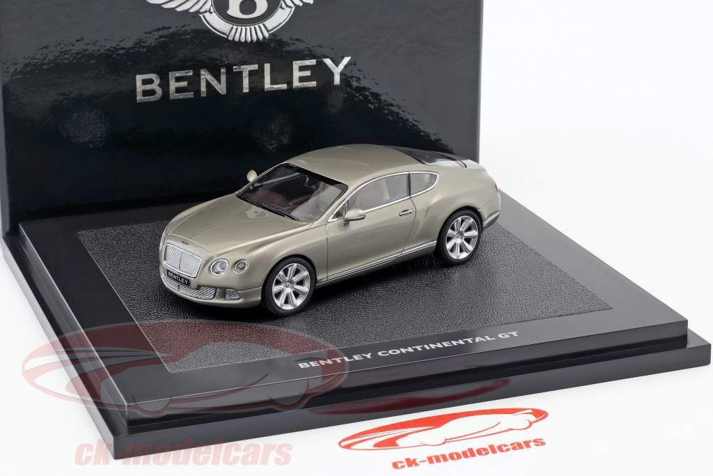 Bentley New Continental GT pearlsilber 1:43 Minichamps
