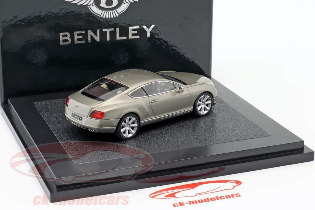 Bentley New Continental GT prata pérola 1:43 Minichamps