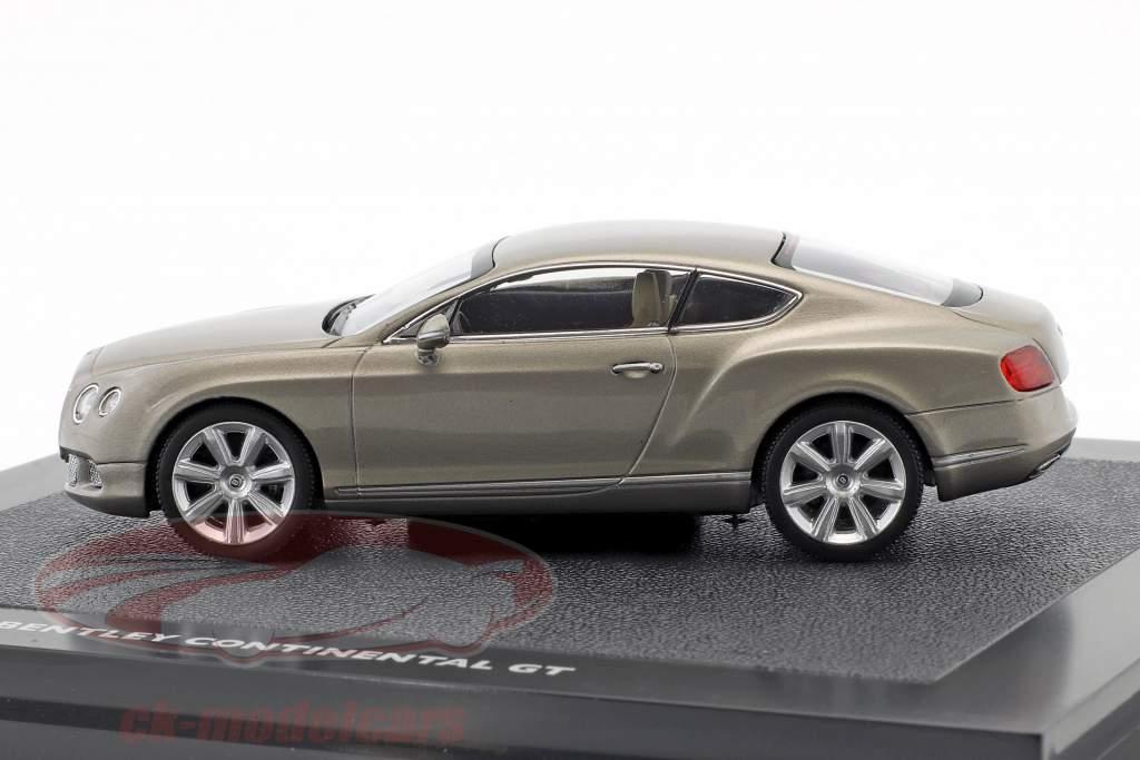 Bentley New Continental GT perle sølv 1:43 Minichamps