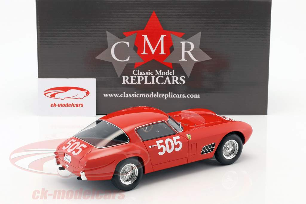 Ferrari 250 GT Berlinetta Competizione #505 classe gagnant Mille Miglia 1956 1:18 CMR