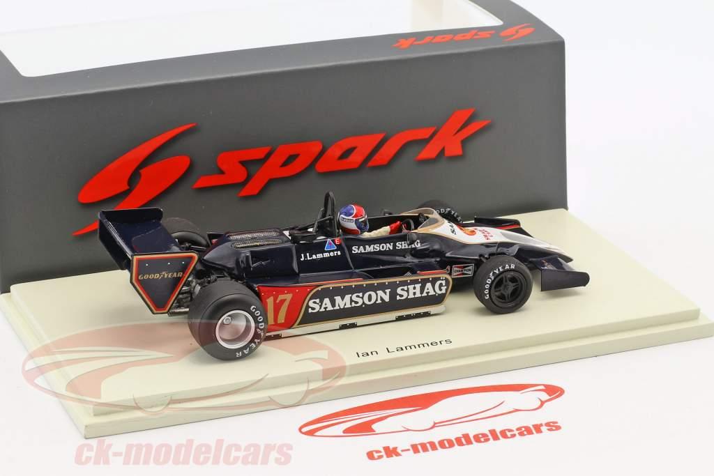 Jan Lammers Shadow DN9 #17 Argentinië GP formule 1 1979 1:43 Spark