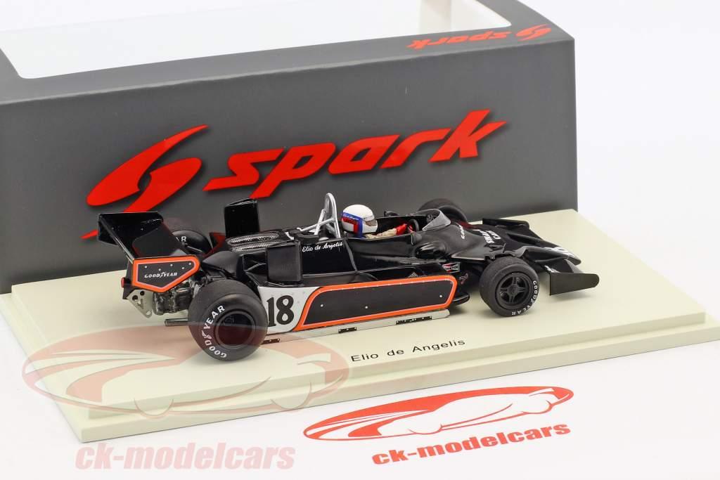 Elio de Angelis Shadow DN9 #18 Belgio GP formula 1 1979 1:43 Spark