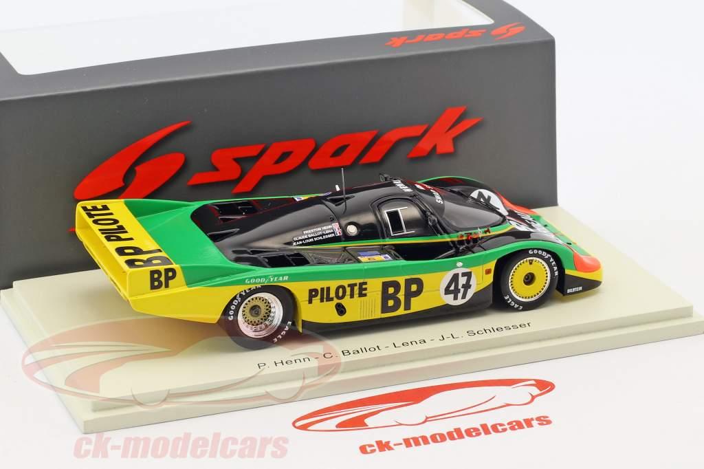 Porsche 956 #47 24h LeMans 1983 Henn, Schlesser, Ballot-Lena 1:43 Spark
