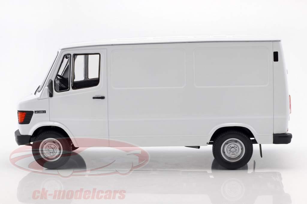 Mercedes-Benz 208 D furgoneta año de construcción 1988 blanco 1:18 KK-Scale