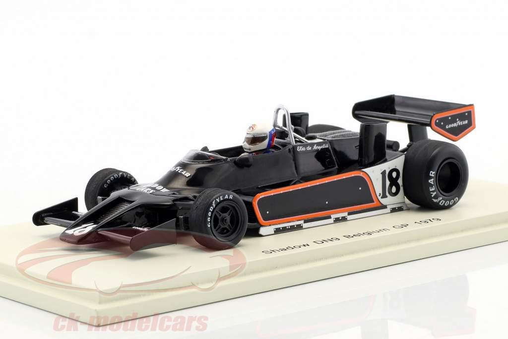 Elio de Angelis Shadow DN9 #18 België GP formule 1 1979 1:43 Spark